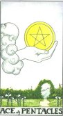 Tarot Meanings - Ace of Pentacles