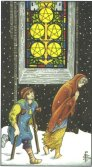 Tarot Meanings - Five of Pentacles