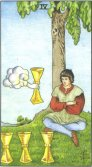 Tarot Meanings - Four of Cups