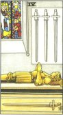 Tarot Meanings - Four of Swords