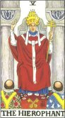 Tarot Meanings - The Hierophant