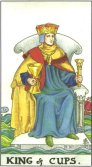 Tarot Meanings - King of Cups