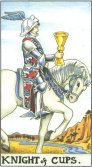 Tarot Meanings - Knight of Cups