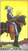 Tarot Meanings - Knight of Pentacles