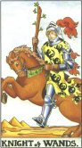 Tarot Meanings - Knight of Wands