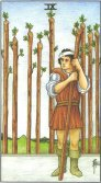Tarot Meanings - Nine of Wands
