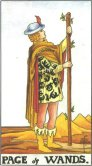 Tarot Meanings - Page of Wands