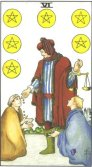 Tarot Meanings - Six of Pentacles