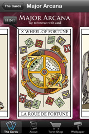 Tarot Card Readings App for iPhone and iPad screen