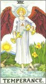 Tarot Meanings - Temperance