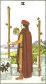 Tarot Meanings - Two of Wands